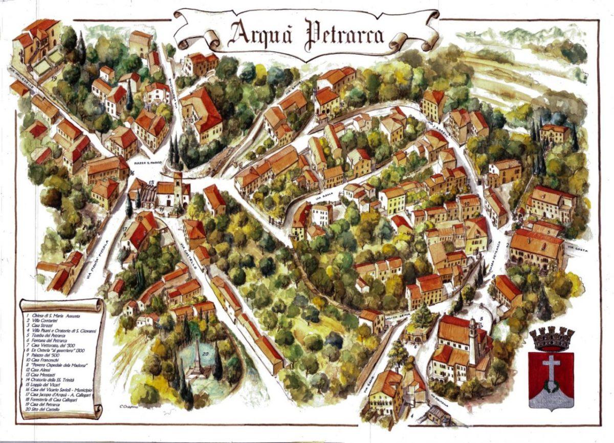 Marcia ad Arquà Petrarca (PD) del 09 Dicembre 2018 Podisti Recoaresi